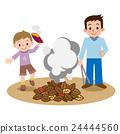 烤紅薯 篝火 紅薯 24444560