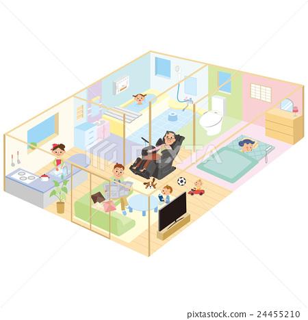房間平面圖 24455210