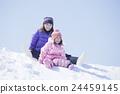 เล่นหิมะ,ความเป็นพ่อแม่,ฤดูหนาว 24459145
