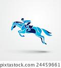 vector horse equestrian 24459661