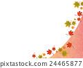 단풍, 가을, 낙엽 24465877