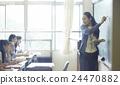 学校课堂风景初中学生形象 24470882