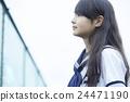 女子初中肖像 24471190