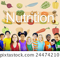 Nutrition Food Diet Healthy Life Concept 24474210