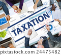 Payment Received Taxation Tax Time Concept 24475482