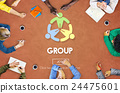 Group Teamwork Organization Society Concept 24475601