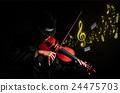 violin music player 24475703