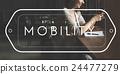 Mobility Cellular Communication Digital Smart Concept 24477279