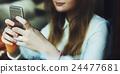 browsing, girl, mobile 24477681
