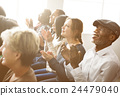 Audience Applaud Clapping Happines Appreciation Training Concept 24479040