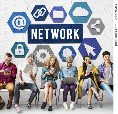 Network Networking Internet Connection Concept 24479503