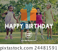 Happy Birthday Event Occasion Anniversary Concept 24481591