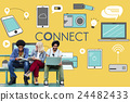 Connect Connection Devices Technology Communicztion Concept 24482433