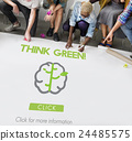 Go Green Refresh Think Green Concept 24485575