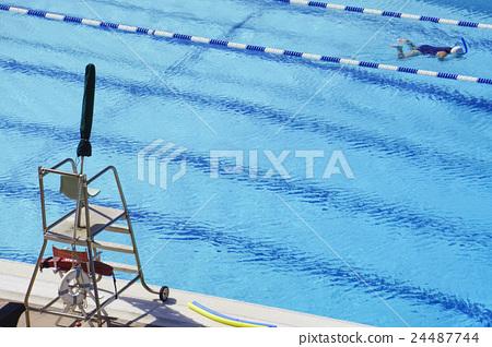 游泳池 水池 游泳 24487744