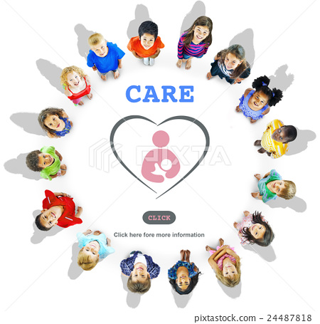 Care Childcare Love Baby Take Care Concept 24487818