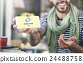 Gambling Jackpot Luck Enter to Win Lotto Ticket Concept 24488758