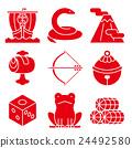 吉祥物 幸运符 日本 24492580