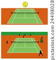 网球 招待 网球拍 24498028