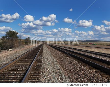 Arizona railway track 24502179