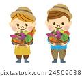 農民 農夫 農舍 24509038