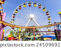 santa monica pier, attraction, attractions 24509692