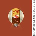 秋天 秋 枫树 24511043