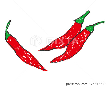Red peppers 24513352