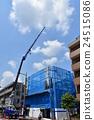 building site, crane, cranes 24515086