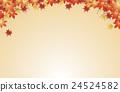 단풍, 잎, 이파리 24524582
