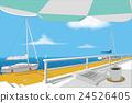 海洋 海 蓝色的水 24526405