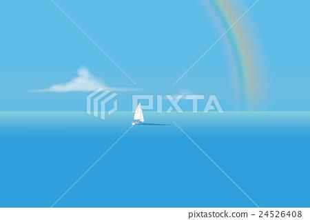 바다, 리조트, 요트 24526408