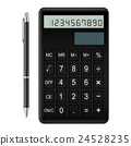 calculator, ball-point, ballpoint 24528235