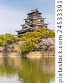 Hiroshima castle in Japan 24533391