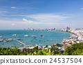 view of Pattaya city 24537504