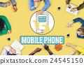 Mobile Phone Cellphone Cellular Communicate Concept 24545150