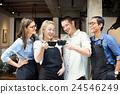 Friends Partnership Barista Coffee Shop Concept 24546249