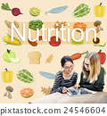Nutrition Food Diet Healthy Life Concept 24546604