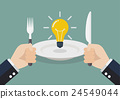 bulb, lightbulb, fork 24549044