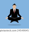 Businessman in meditation 24549045