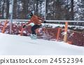 滑雪板 冬季運動 冬 24552394