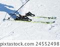 冬季運動 滑雪 概念 24552498