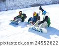 男性 冬季運動 雪景 24552622
