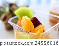 早餐 水果 食品 24556016