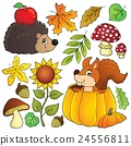 Autumn nature theme set 1 24556811