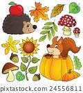 Autumn nature theme set 1 24556811