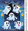Ghosts in haunted castle theme 1 24556825