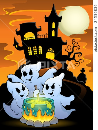 Ghosts stirring potion theme image 5 24556836