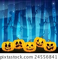 Halloween pumpkins theme image 1 24556841