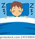 Boy Sleeping Peacefully 24559869